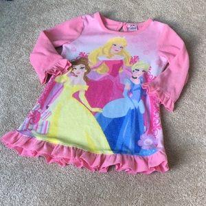 Disney Princess Pajama Nightgown 2T